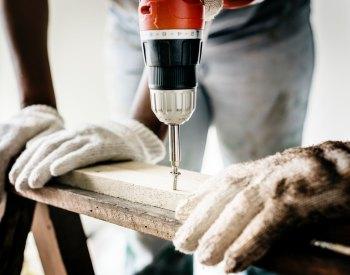 boormachine hout boren