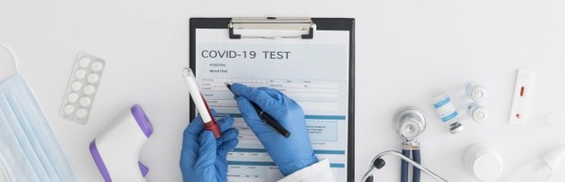 covid test uitslag